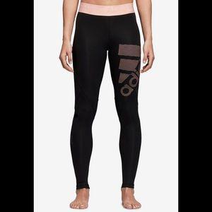 Adidas alpha skin compression leggings